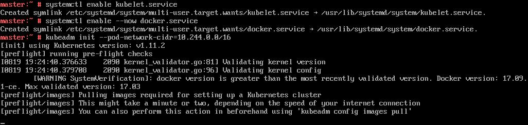 Kubic | Getting started with kubeadm on Kubic
